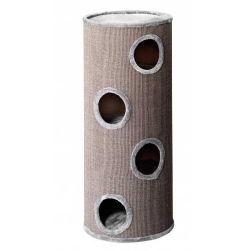 EBI TREND CAT-DOME EXTREME 120 50x50x120cm/light-grey plush