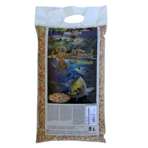 COBBYS PET POND GRANULES COLOUR MEDIUM 5l (0,75kg) taška