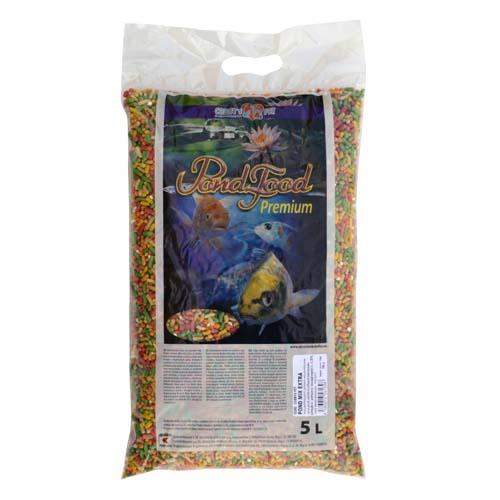 COBBYS PET POND MIX EXTRA 5l taška směs granulí, pelet a extrudovaného prosa