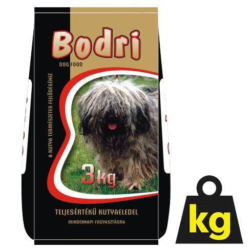 BODRI 18/10 3kg barevné krmivo pro psy