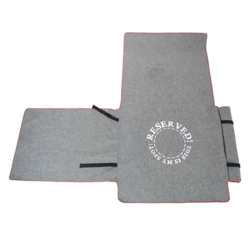 EBI D&D HOMECOLLECTION 240x155cm ochranný přehoz na sedačku šedý