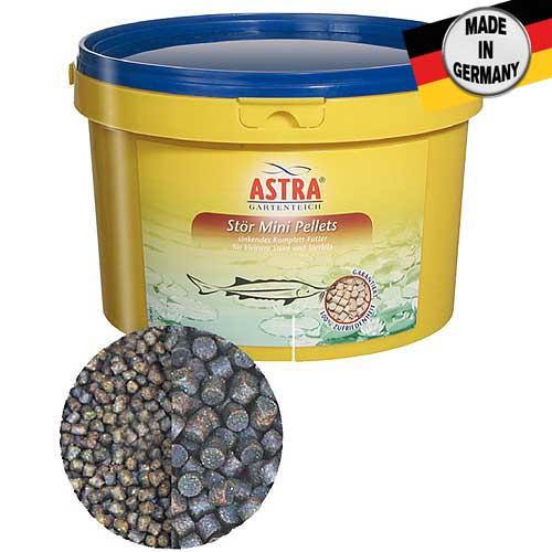 ASTRA STÖR  MINI PELLETS 3mm / 3 l ponárajúce sa krmivo pre menších jeseterov