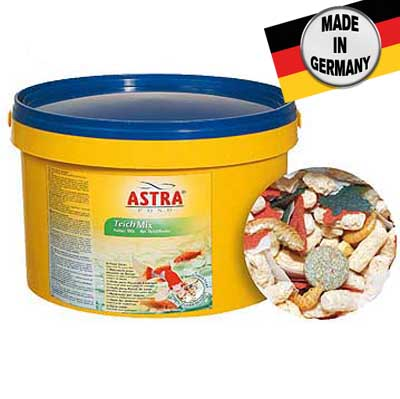 ASTRA TEICH MIX  3 l kombinované krmivo pre rôzne druhy záhradných rýb