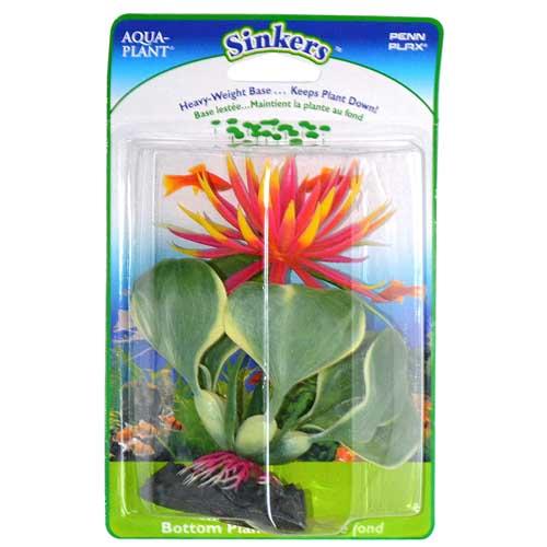 PP Rastlina umelá 13cm Red Water Hyacinth